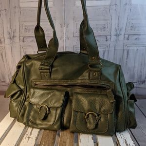 Aldo purse tote bag handbag purse brown tan casual